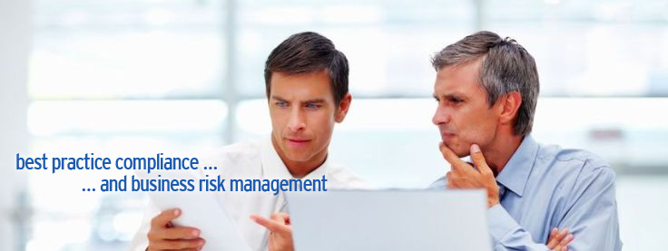 Best practice compliance ... and business risk management.